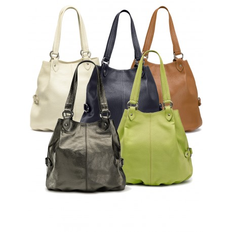Leather bags in stock