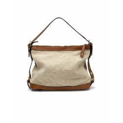 Leather light brown bag