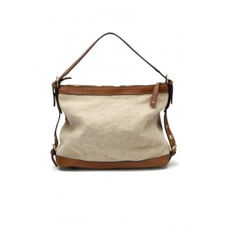 Leather light brown bag