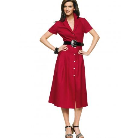 Air Red Dress