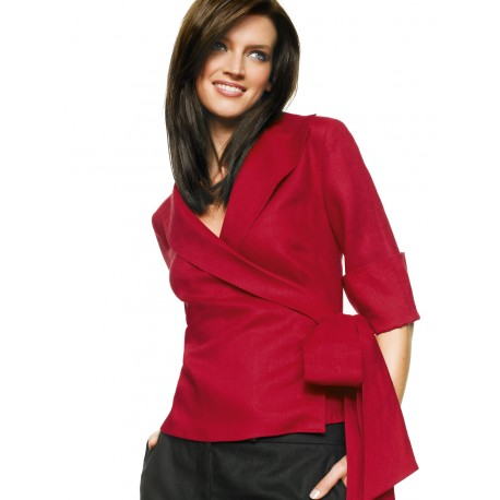 Red Cotton Blouse