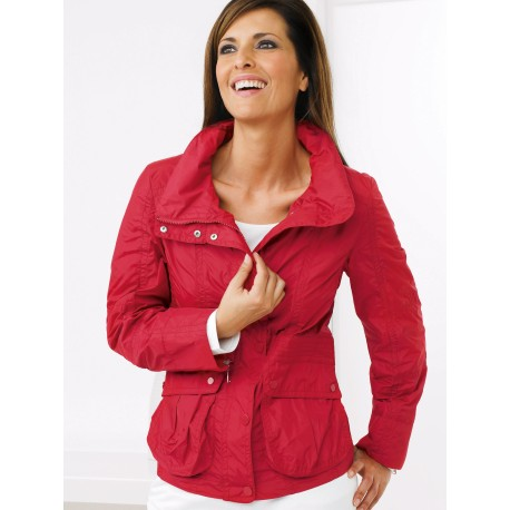 Warm Sintepon Red Jacket