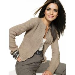 Wool Light Brown Jacket