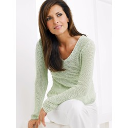 Light Green Thin Sweater