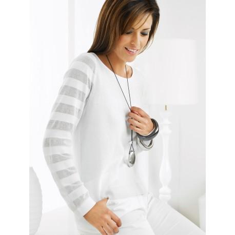 Light White Sweater