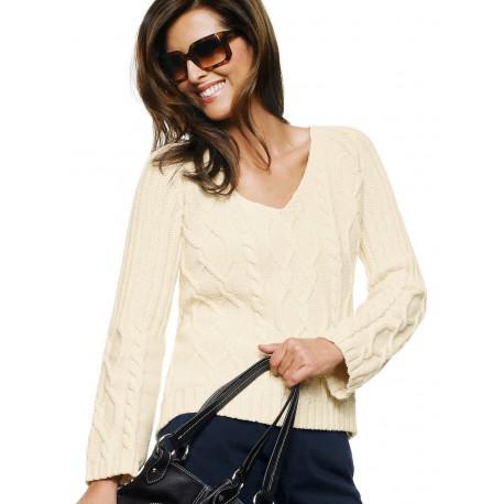 Elegant Beige Sweater